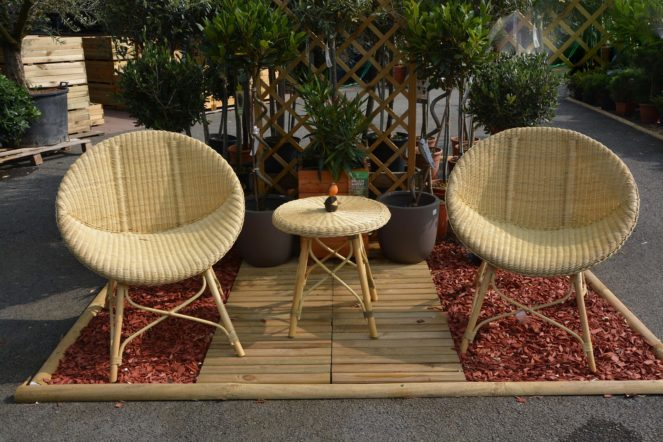 Gartenmöbel und Gartenstühle